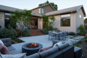 Дизайн двора частного дома: идеи для планировки и обустройства