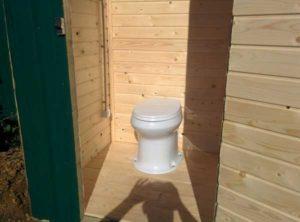 Унитаз для дачного туалета: разновидности, как сделать самостоятельно