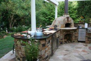Как сделать каменный мангал на даче своими руками: пошаговая инструкция