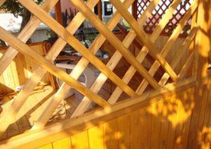деревянная-обрешетка