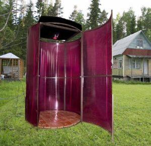 душ-из-поликарбоната