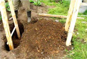 Как закрепить качели на земле: бетонирование и установка на даче