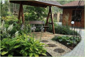 Как сделать деревянные садовые качели своими руками на даче
