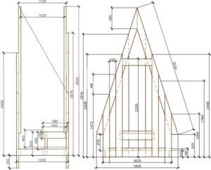 Как сделать своими руками туалет из ОСБ плиты для дачи: размеры, чертёж