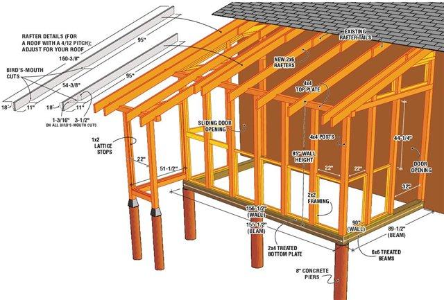 Деревянная терраса: как построить своими руками
