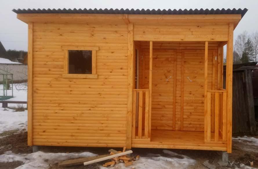 Душ и туалет для дачи под одной крышей: как сделать своими руками