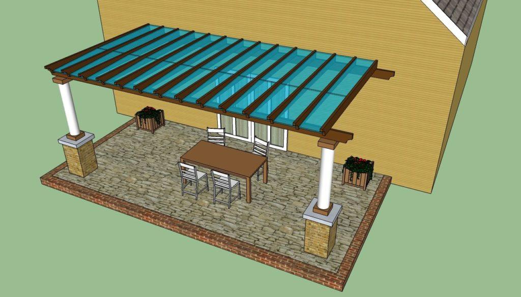 Веранда на даче своими руками: варианты открытой и закрытой веранды
