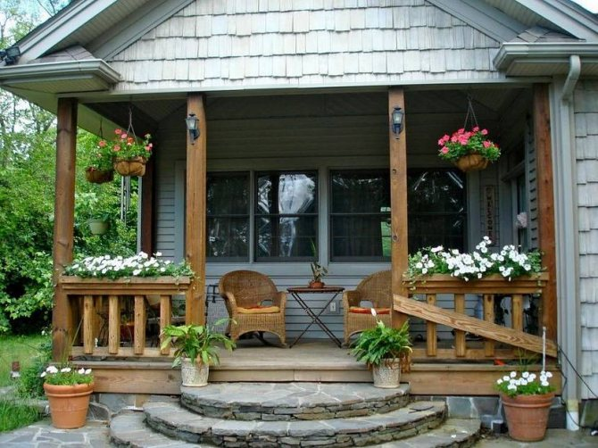 Крыльцо  и веранда: как пристроить к дачному дому самостоятельно