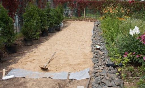 Геотекстиль для садовых дорожек: для чего нужен, как выбрать