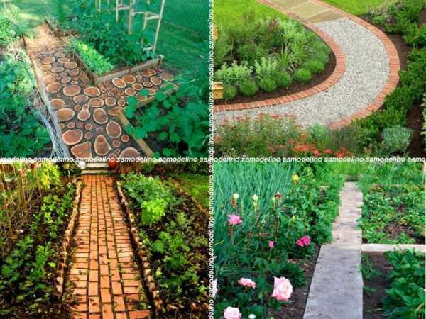 Ландшафтный дизайн дорожек на даче: варианты красивого оформления