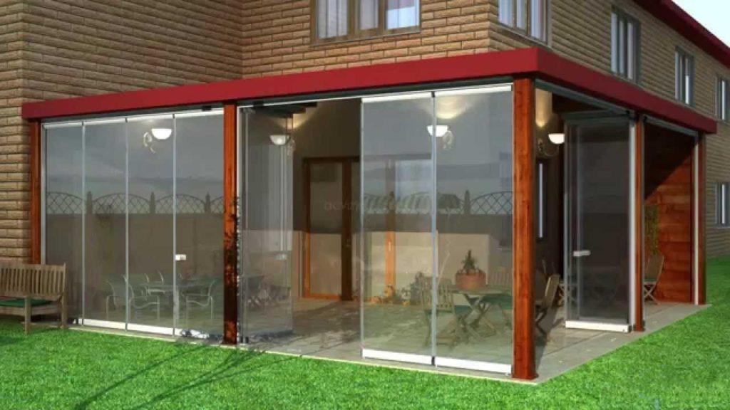 Окна из поликарбоната для веранды: как сделать остекление самостоятельно
