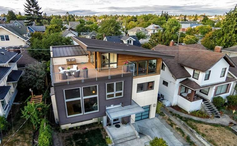 Терраса на крыше частного дома: самостоятельное обустройство