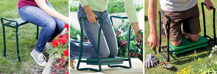 Скамейка садовая складная перевертыш своими руками