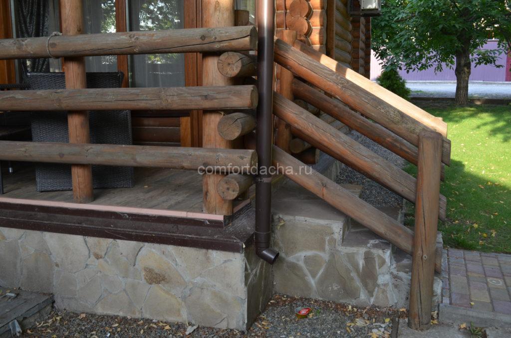 Как сделать перила в беседке из дерева на дачном участке