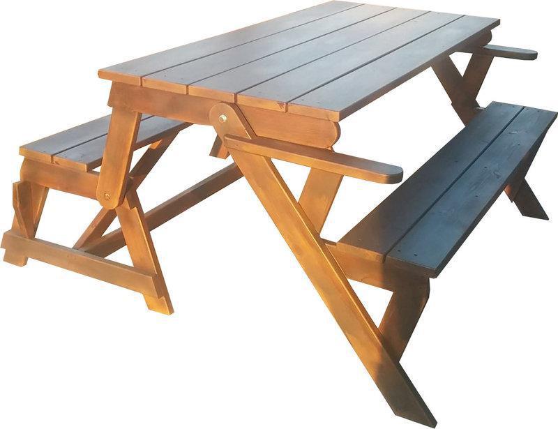 Садовая скамейка-трансформер: как сделать раскладную скамейку