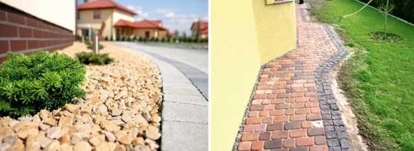 Отмостка из камня вокруг дома: как сделать своими руками