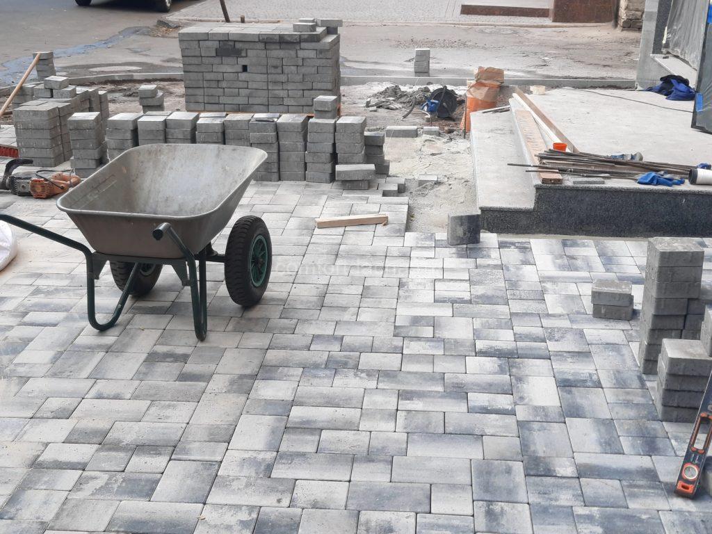 Как сделать дорожки на даче из тротуарной плитки самостоятельно