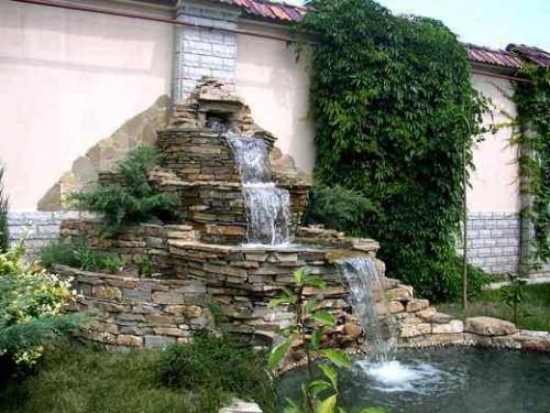 Как сделать водопад на даче своими руками — нюансы возведения