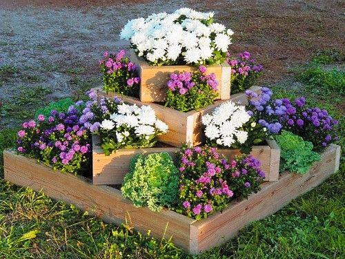 Клумба с цветами в ландшафтном дизайне дачи