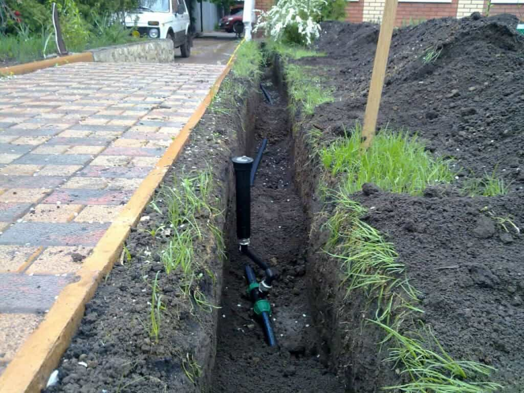 Система полива газона на даче — как сделать автополив своими руками