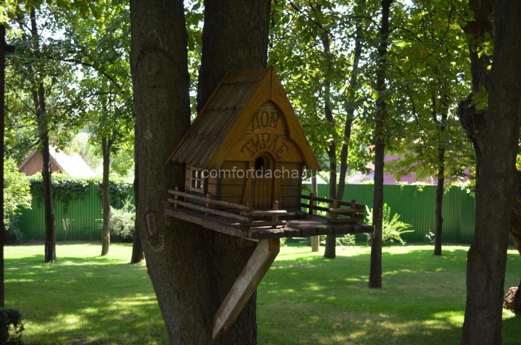 Cкворечник из дерева своими руками — пошаговая инструкция