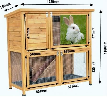 Крольчатник своими руками — чертежи и размеры