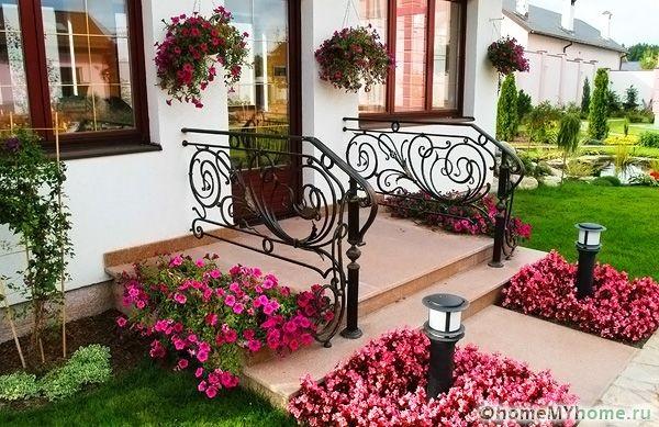 Как правильно посадить цветы в палисаднике на даче — нюансы оформления