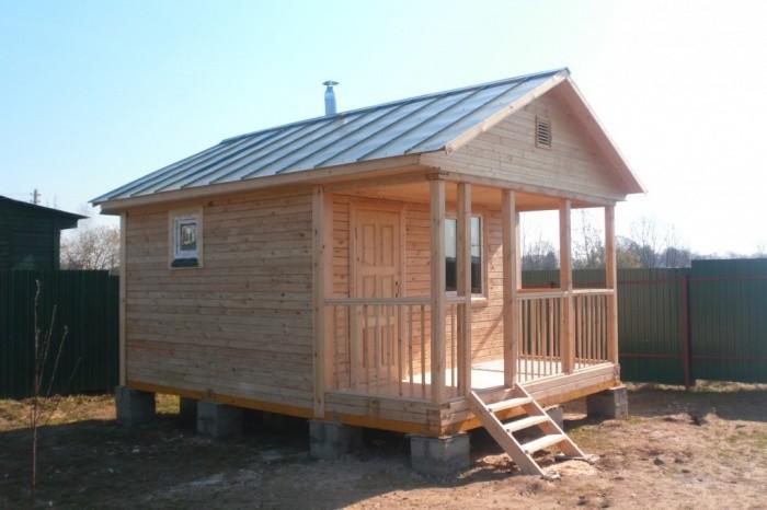 Как дешево построить баню своими руками на даче