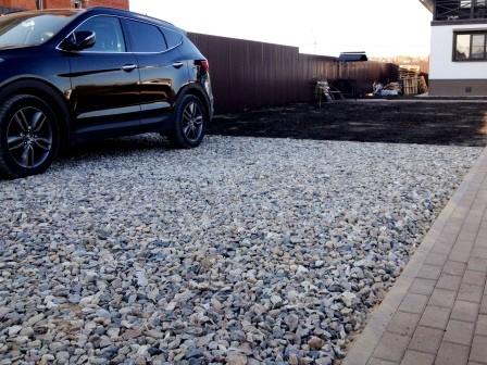 Какой щебень нужен для парковки на даче — достоинства и недостатки