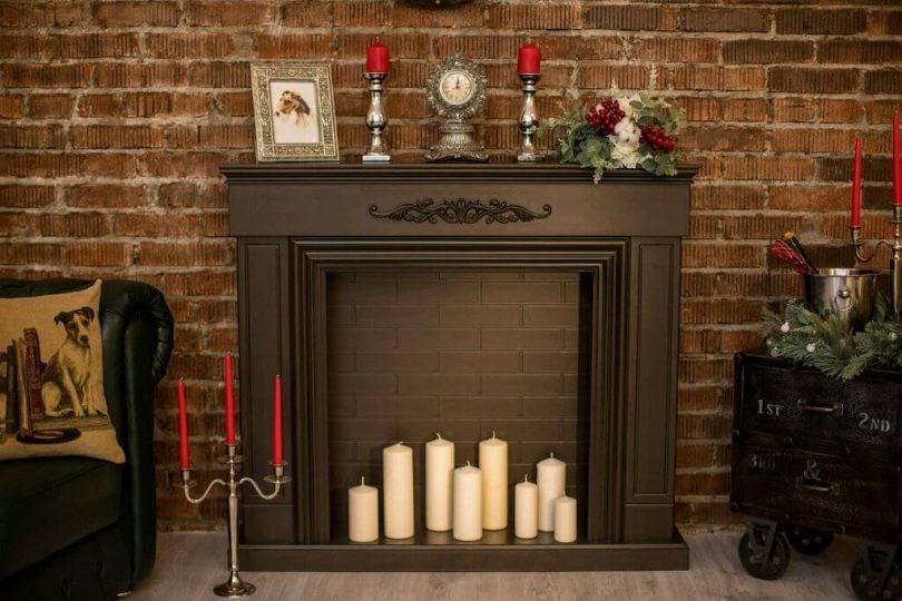 Как украсить камин своими руками — идеи оформления и элементы декора