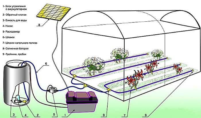 Насос для полива огорода, дачи и сада — из скважины, речки или колодца