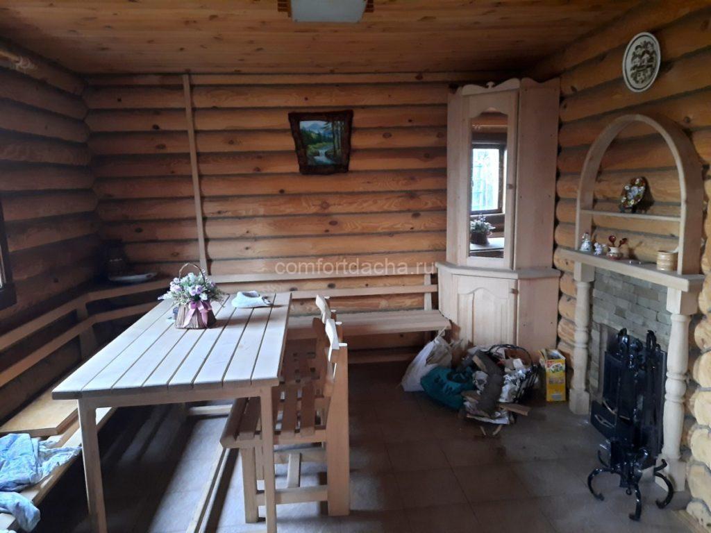 Баня, пристроенная к дому — кирпичному или деревянному