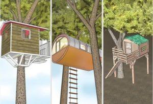 Домик на дереве для детей своими руками — пошаговая инструкция