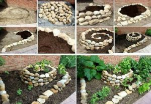 Бордюр из камня своими руками — натуральные и искусственные камни