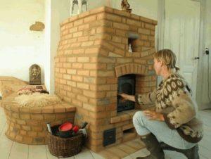Финская печь для отопления дома — загородного и деревянного