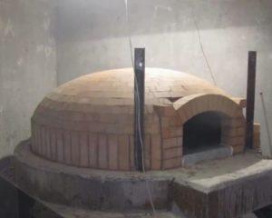 Помпейская печь из глины своими руками